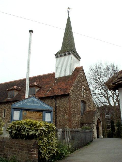 st martins church chipping ongar wikipedia