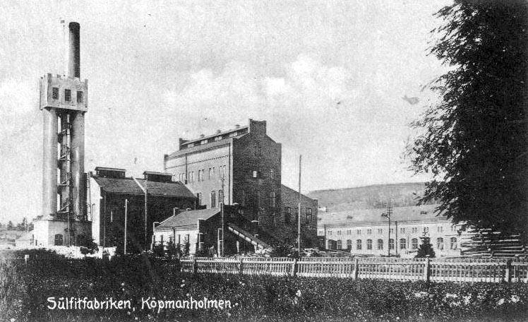 Frsenad sophmtning i Bredbyn, Landsj och Kpmanholmen
