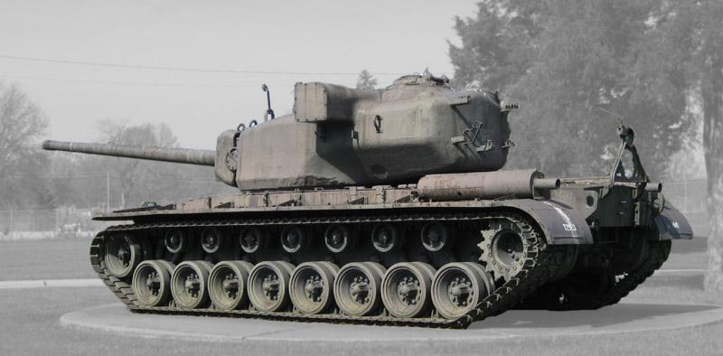 Т-29 - тяжелый танк США