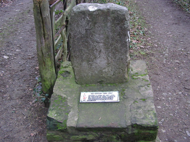 The Drummer Boy's Stone - geograph.org.uk - 298374