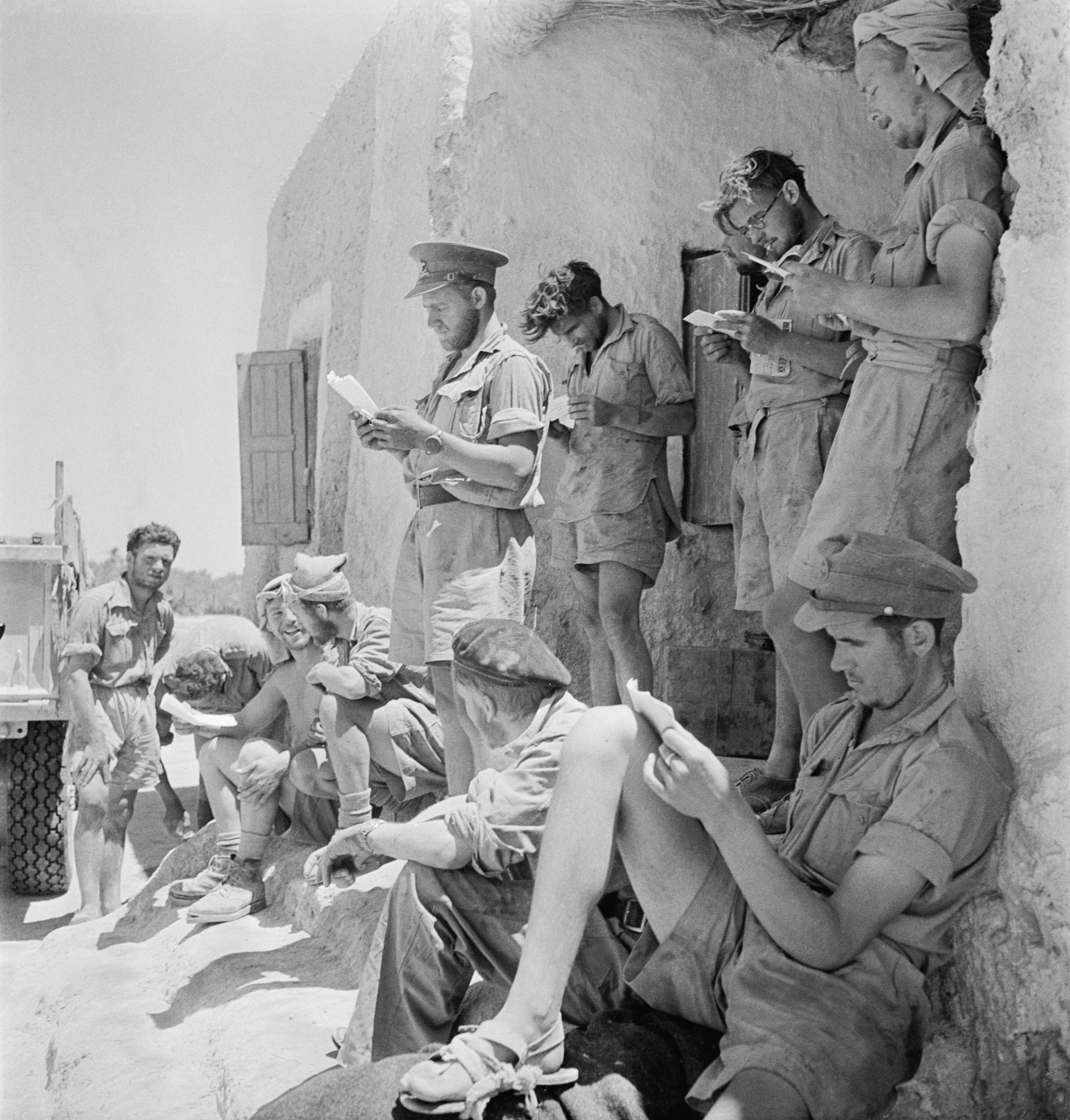 File The Long Range Desert Group Lrdg During The Second World War