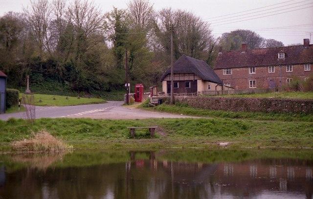 Tollard Royal - Village Hall and War Memorial - geograph.org.uk - 592265