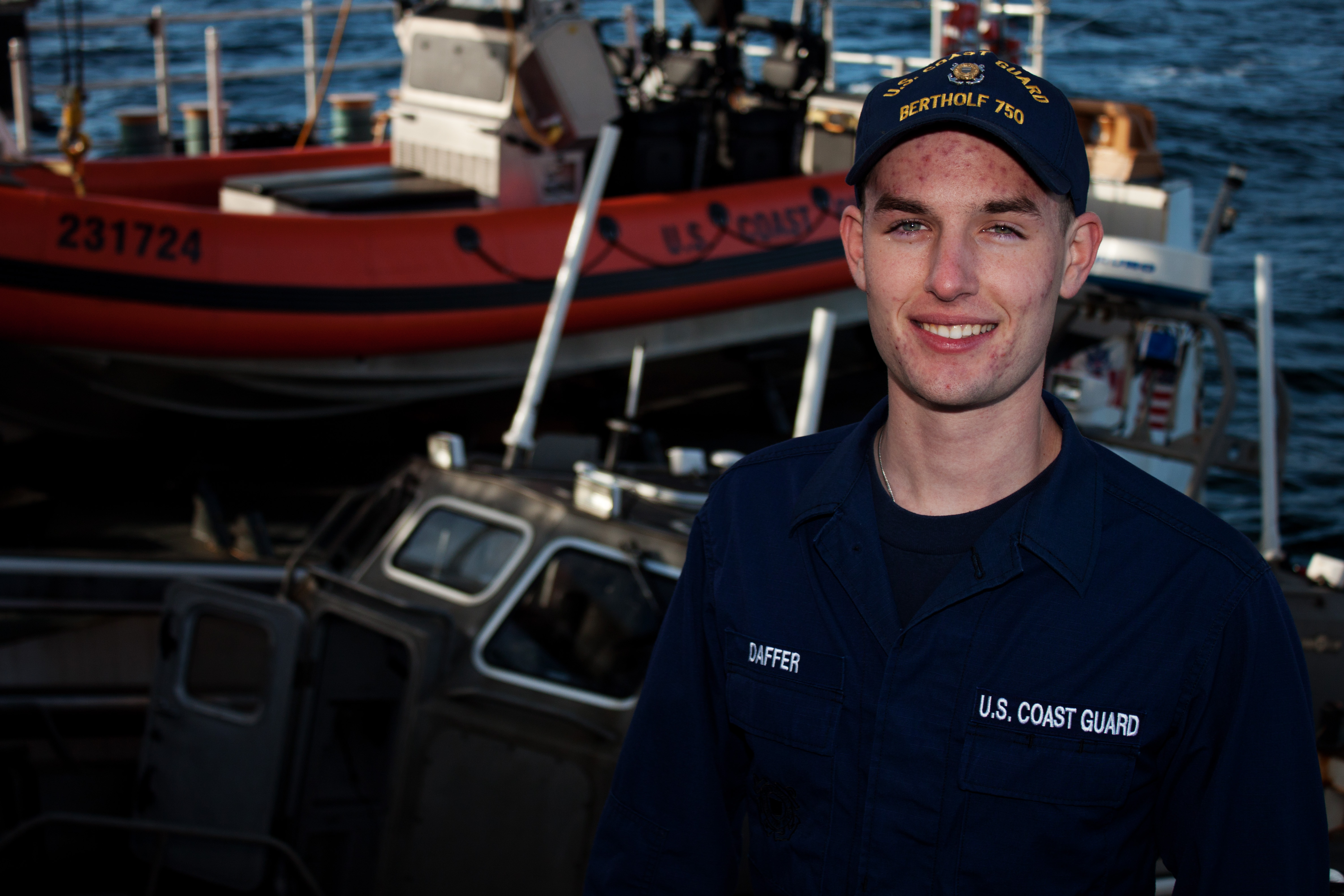 File U S Coast Guard Seaman Jason Daffer A Deck Hand