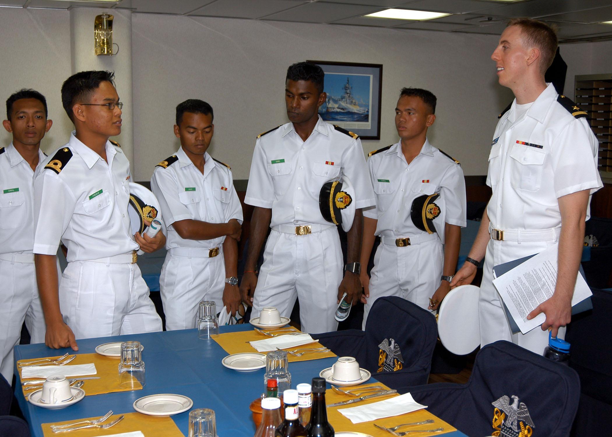 Malaysia Navy Uniform