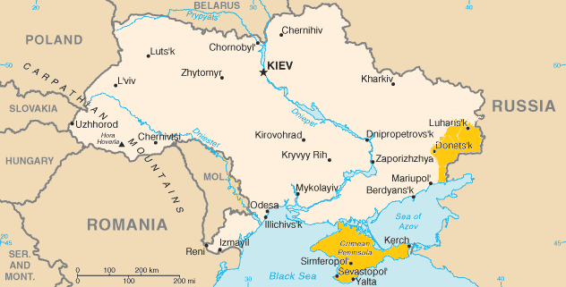 ukraine map disputed territorypng