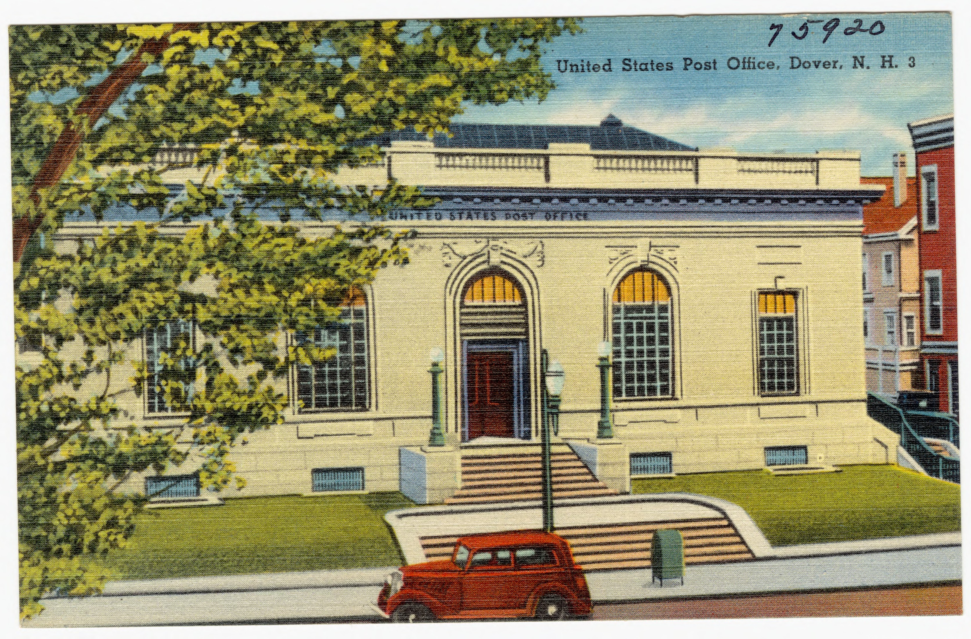 File:United States Post Office, Dover, N.H (75920).jpg ...