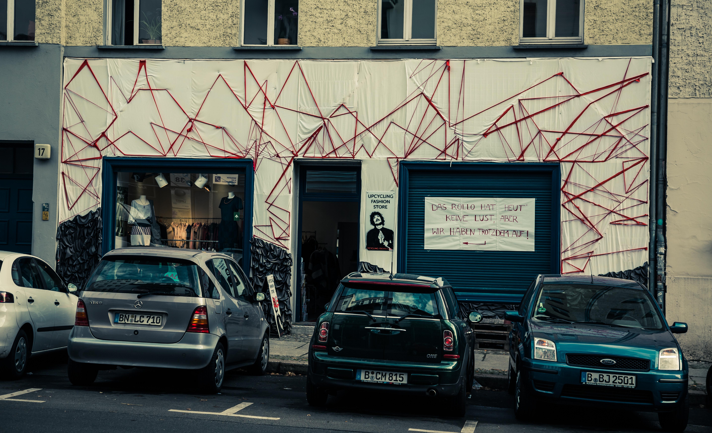 Upcycling Berlin file:upcycling fashion store, anklamer straße, berlin (18763723934