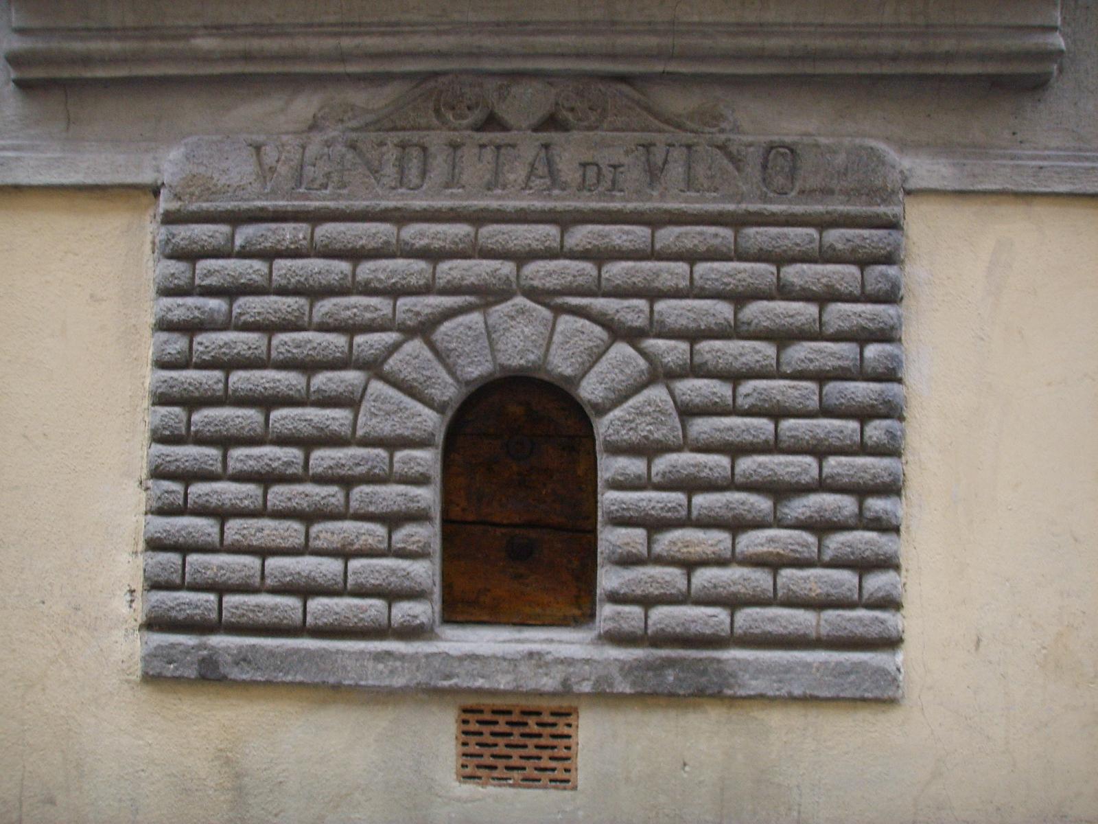 Wine windows Florence, Monastery Stays