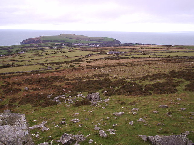 View from Carn Enoch, looking north - geograph.org.uk - 200654