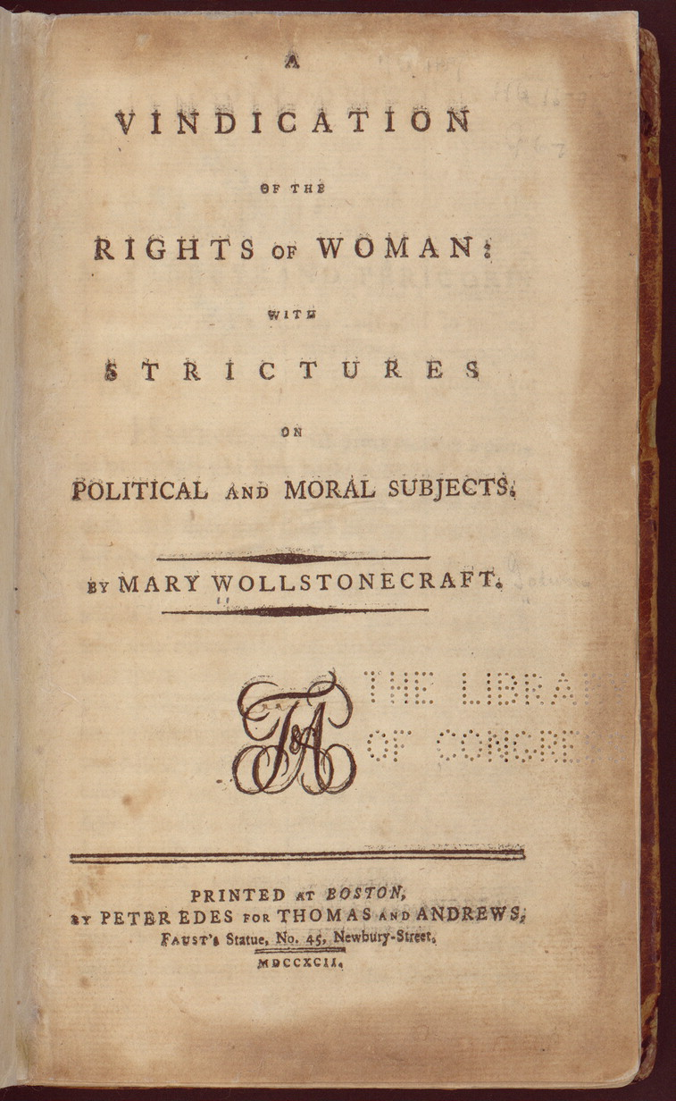 Mary Wollstonecraft Letters