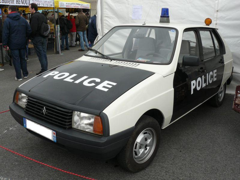 Citroen Visa police Car