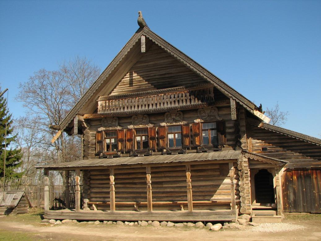 картинки старинных домов на руси