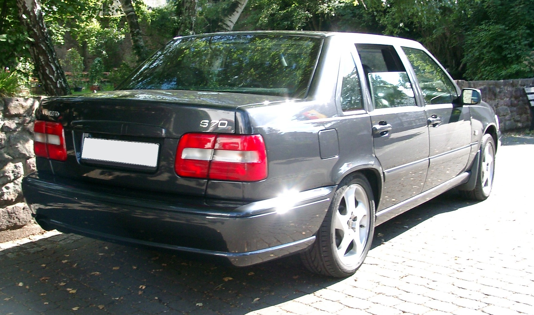 File Volvo S70 Rear 20070823 Jpg Wikimedia Commons