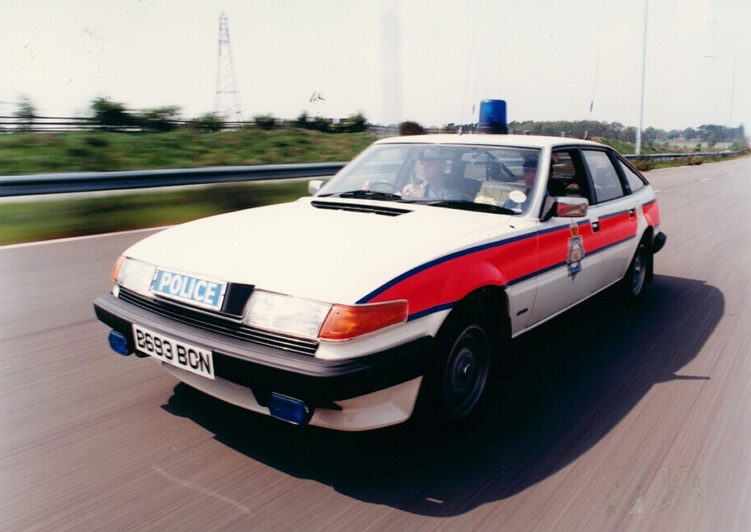 Classic Police Cars Through The Decades