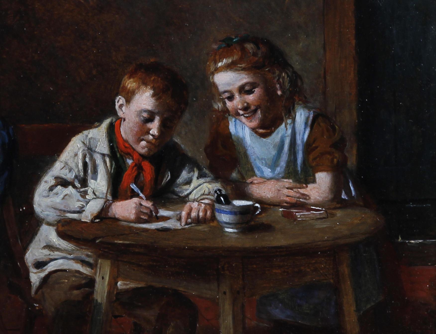 The Valentine.  William Hernsley (1893)