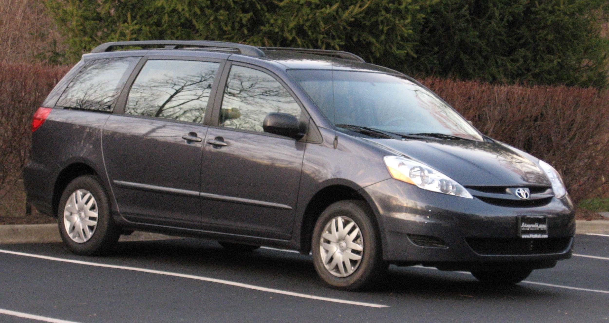 File Toyota Sienna LEjpg Wikimedia Commons - 2006 sienna
