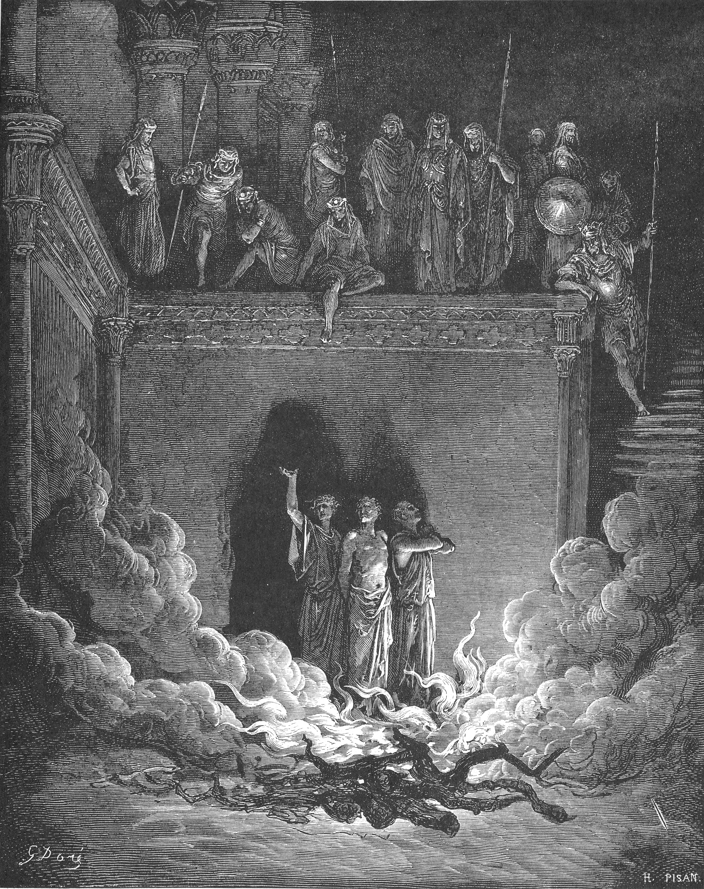 129.Shadrach, Meshach and Abednego in the Furnace.jpg