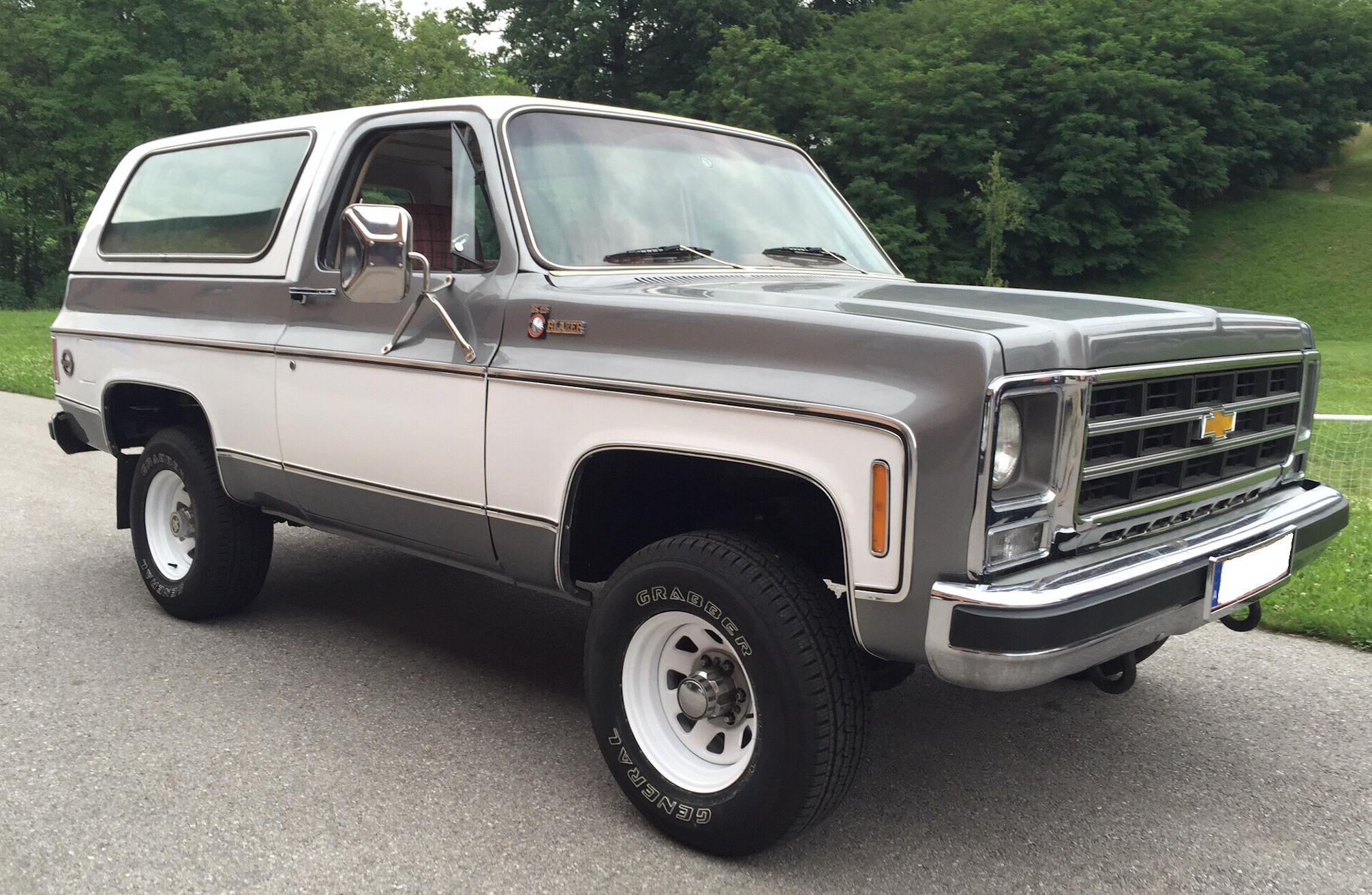 Chevrolet K5 Blazer on 1974 gmc truck