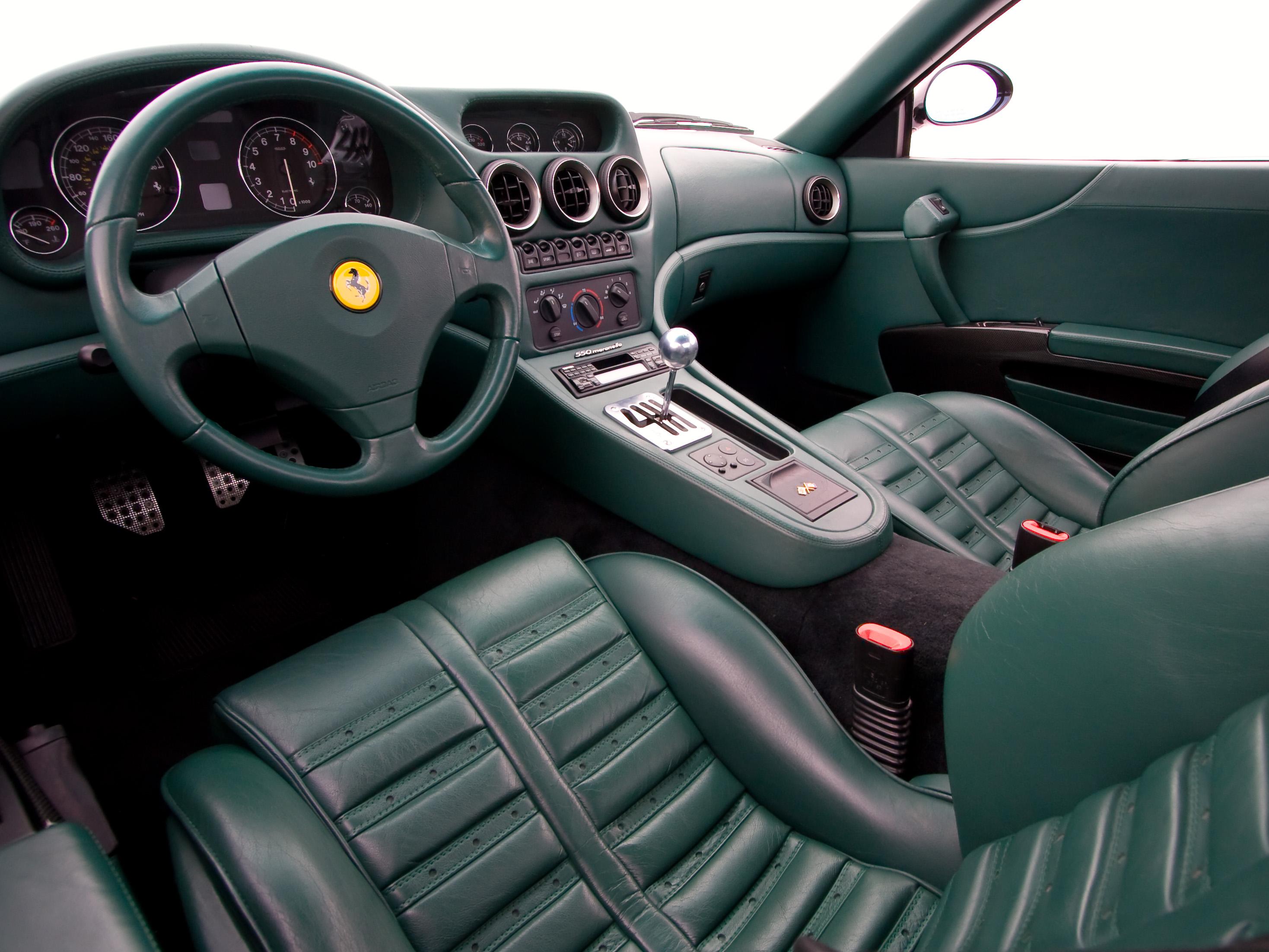 File 1999 Ferrari 550 Maranello Interior Jpg Wikipedia