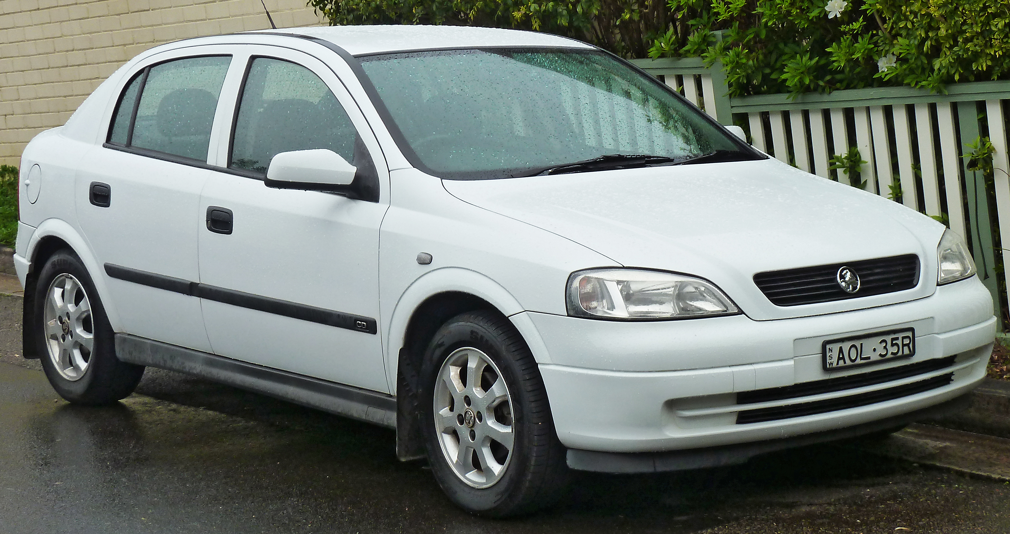Holden Astra Paint Code Location