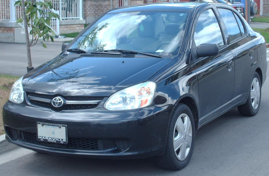 File:2003-05 Toyota Echo Sedan.jpg - Wikimedia Commons