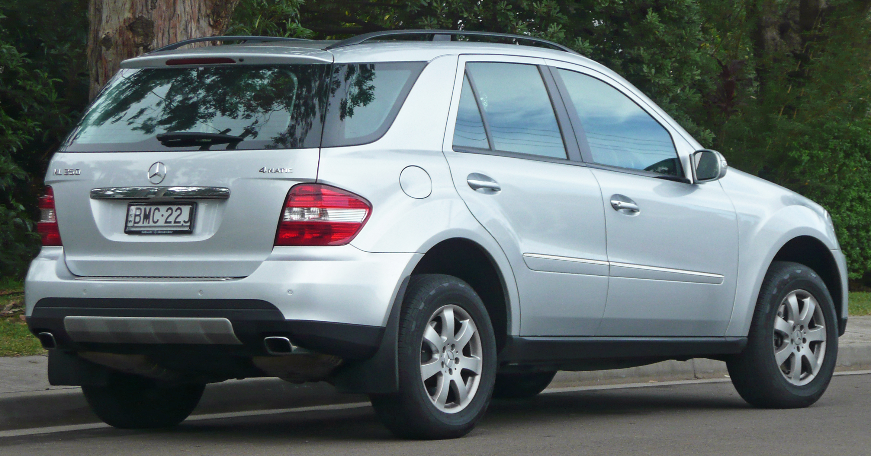 File 2006 2007 mercedes benz ml 350 w 164 wagon 2010 06 for Mercedes benz ml 350 2006