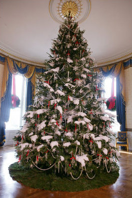 File 2006 Blue Room Christmas Tree Jpg Wikimedia Commons