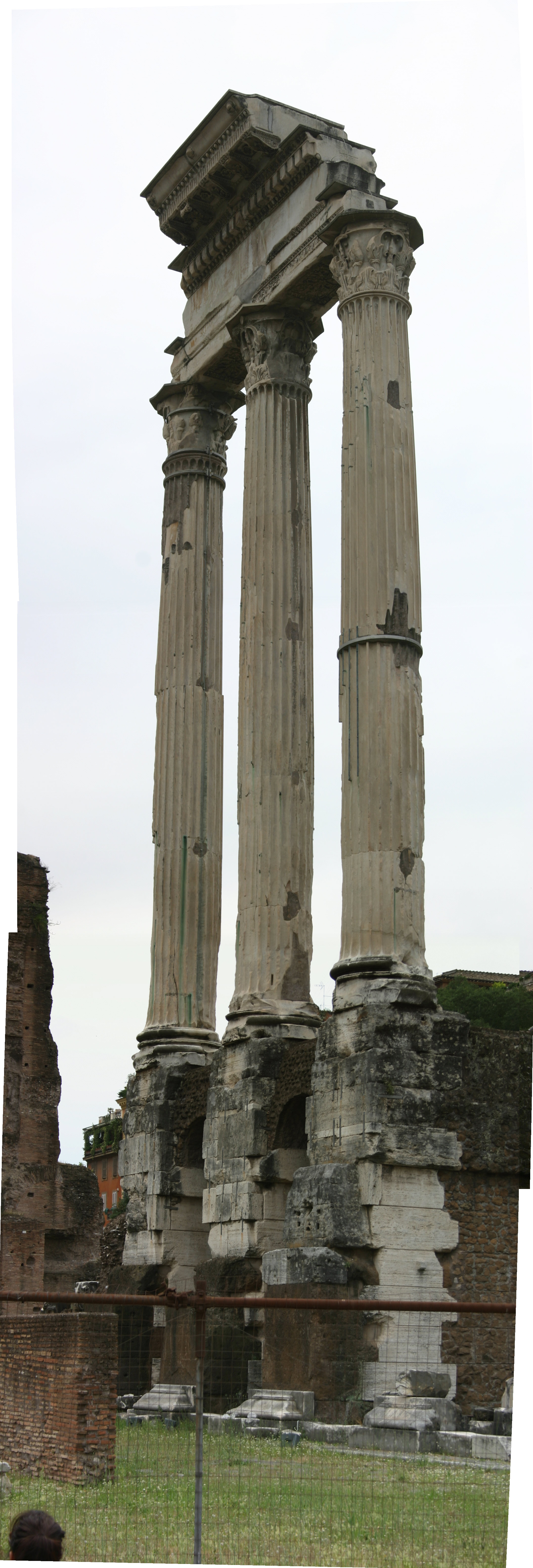 Opinions On Temple Of Castor And Pollux
