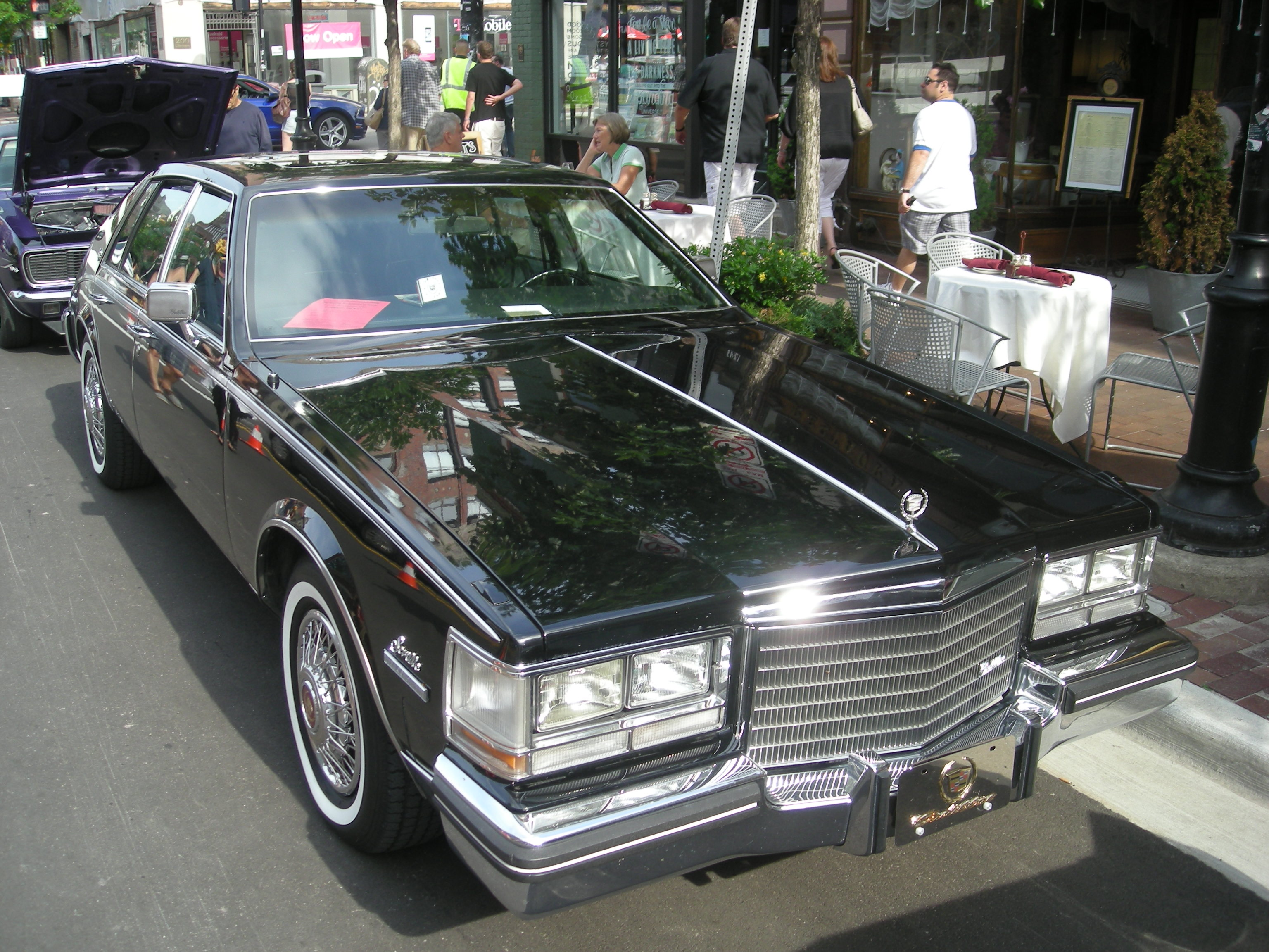 Cadillac Car Shows >> File 2014 Rolling Sculpture Car Show 28 1983 Cadillac