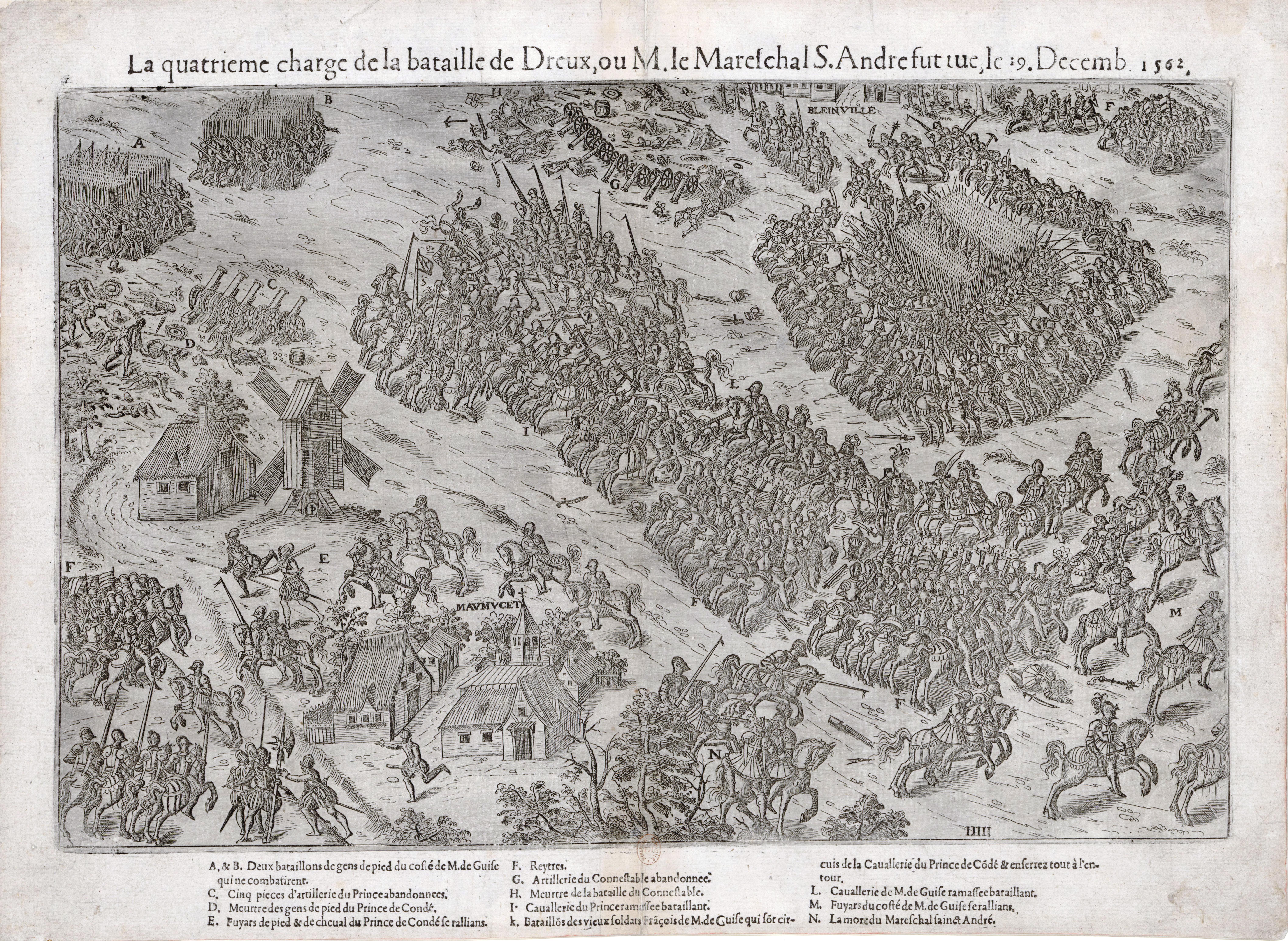 Les 4 Pieds Rouen battle of dreux - wikipedia