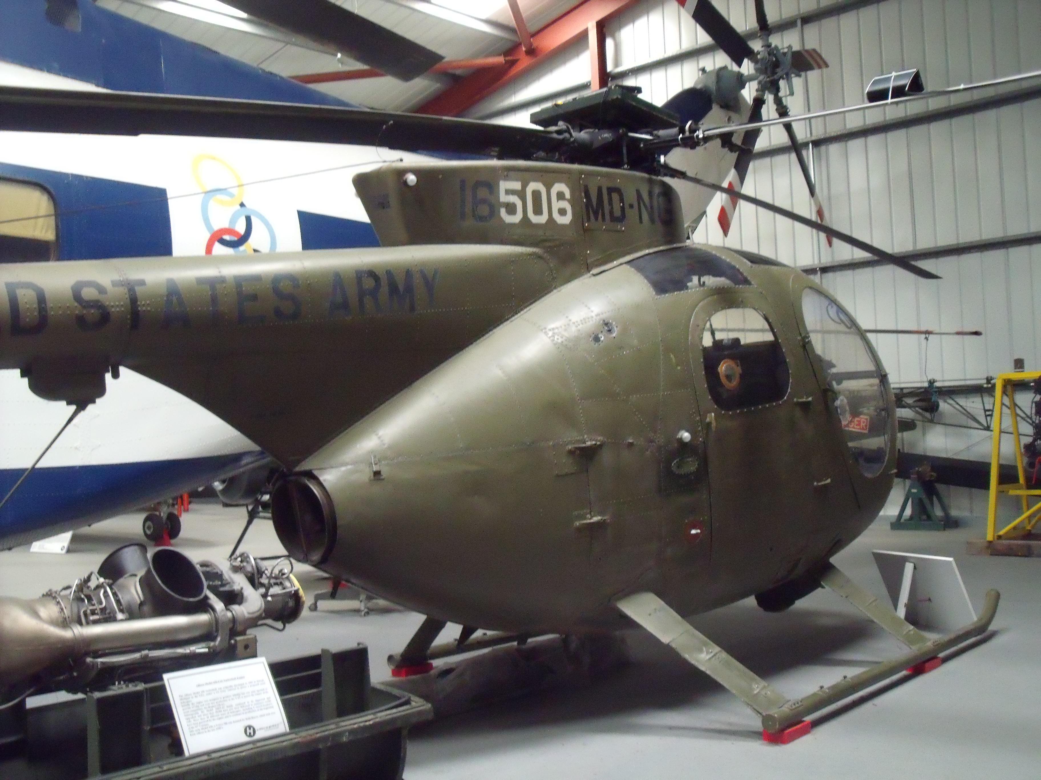 File:67-16506 Hughes OH-6A Cayuse (369A) (cn 0891