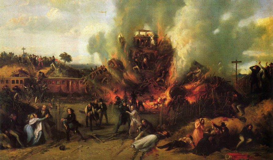 A. Provost - Versailles - Railroad Disaster.jpg