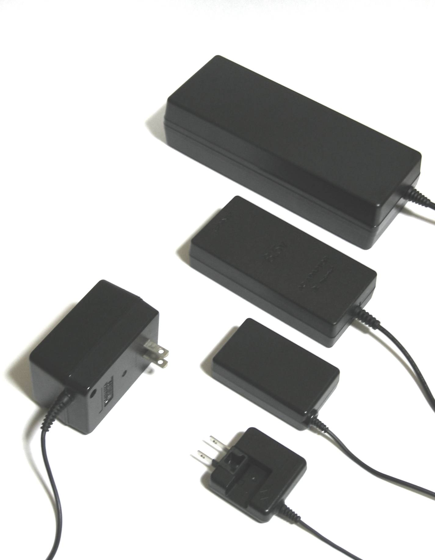 A typical set of voltage converters