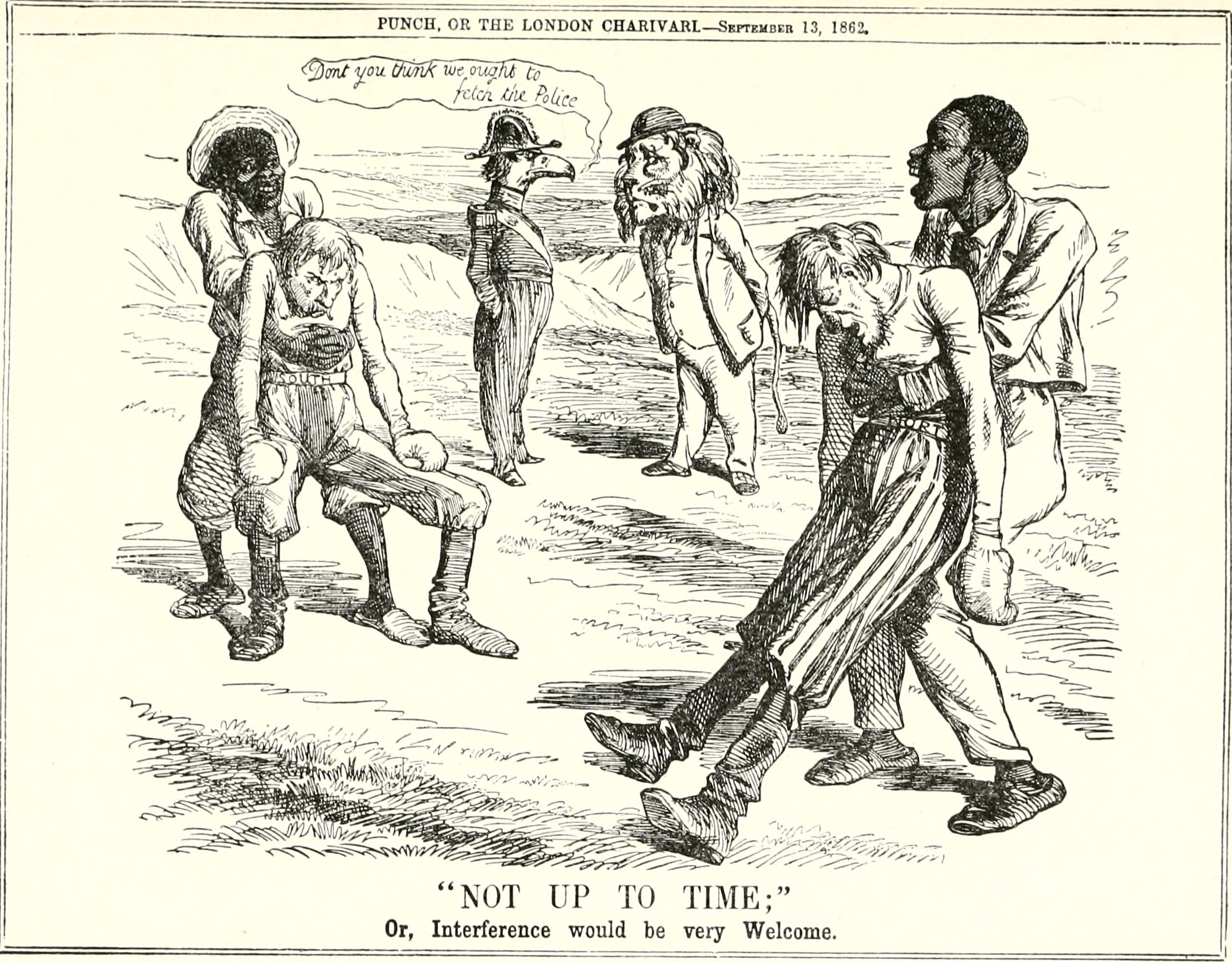 File Abraham Lincoln And The London Punch Cartoons
