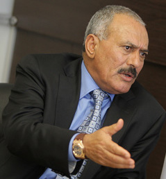 President of North Yemen from 1978 to 1990; President of Yemen from 1990 to 2012