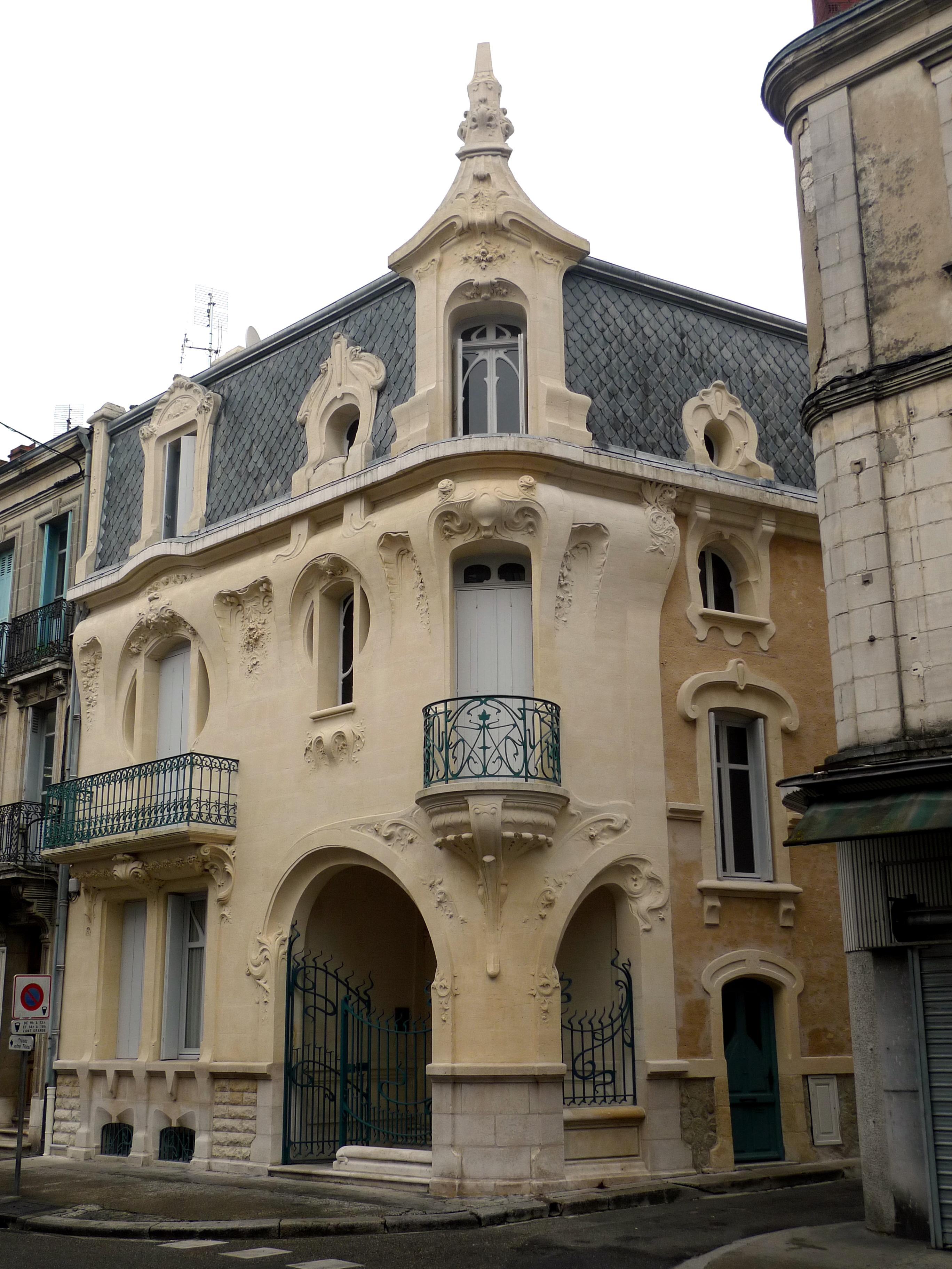 Fichier architecture style art nouveau agen fr47 jpg - Art nouveau architecture de barcelone revisitee ...