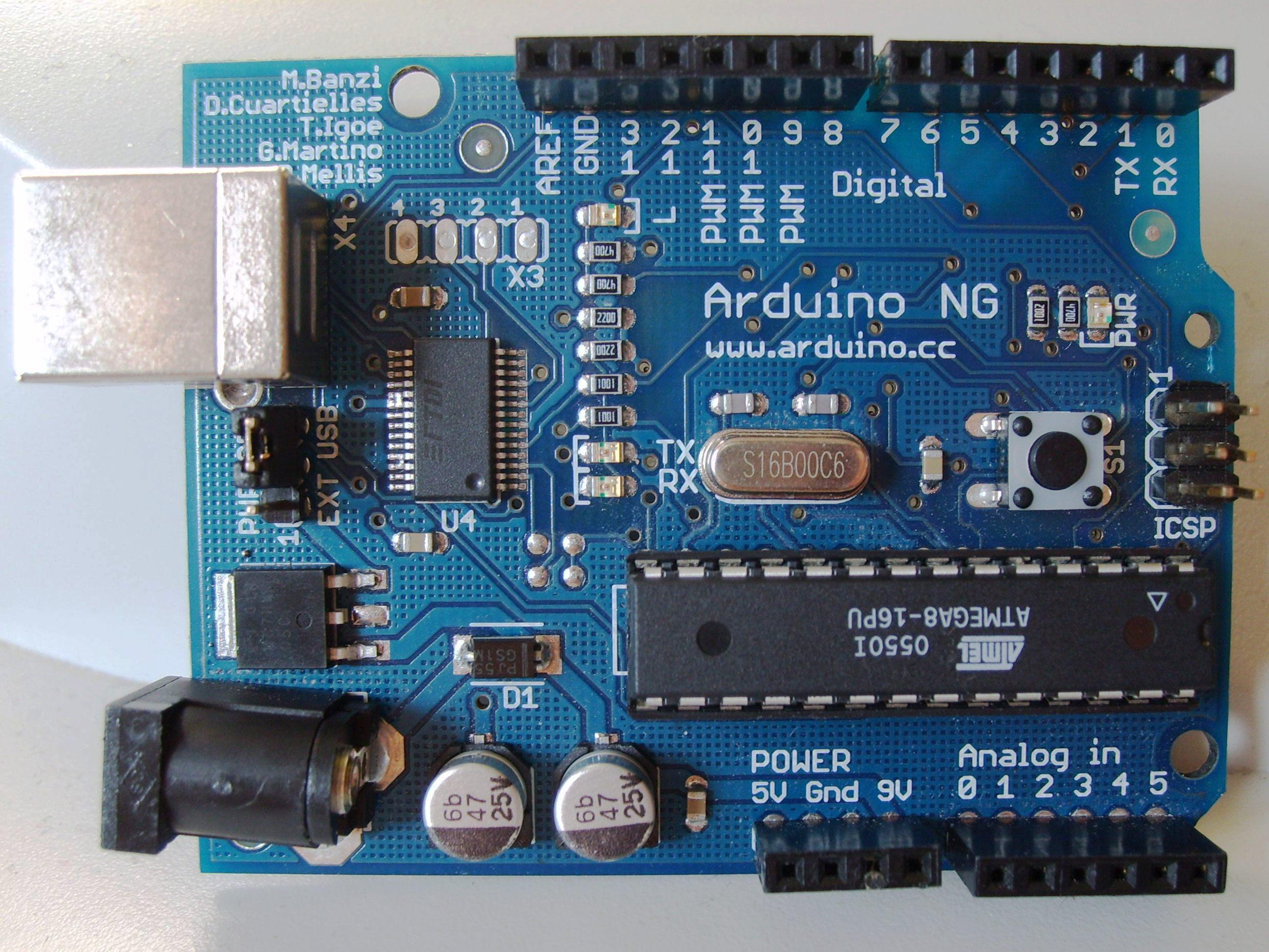 File arduino top g
