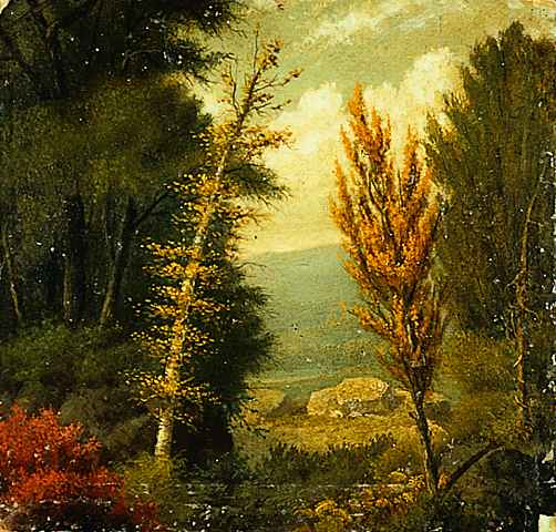 Autumn Scene by John Banvard