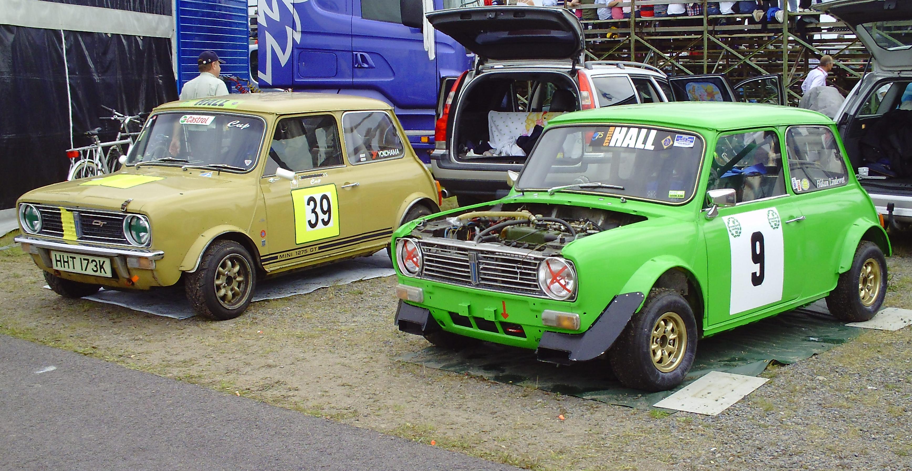 Filebmc Mini Clubman 1275 Gt Historic Falkenberg 2011jpg