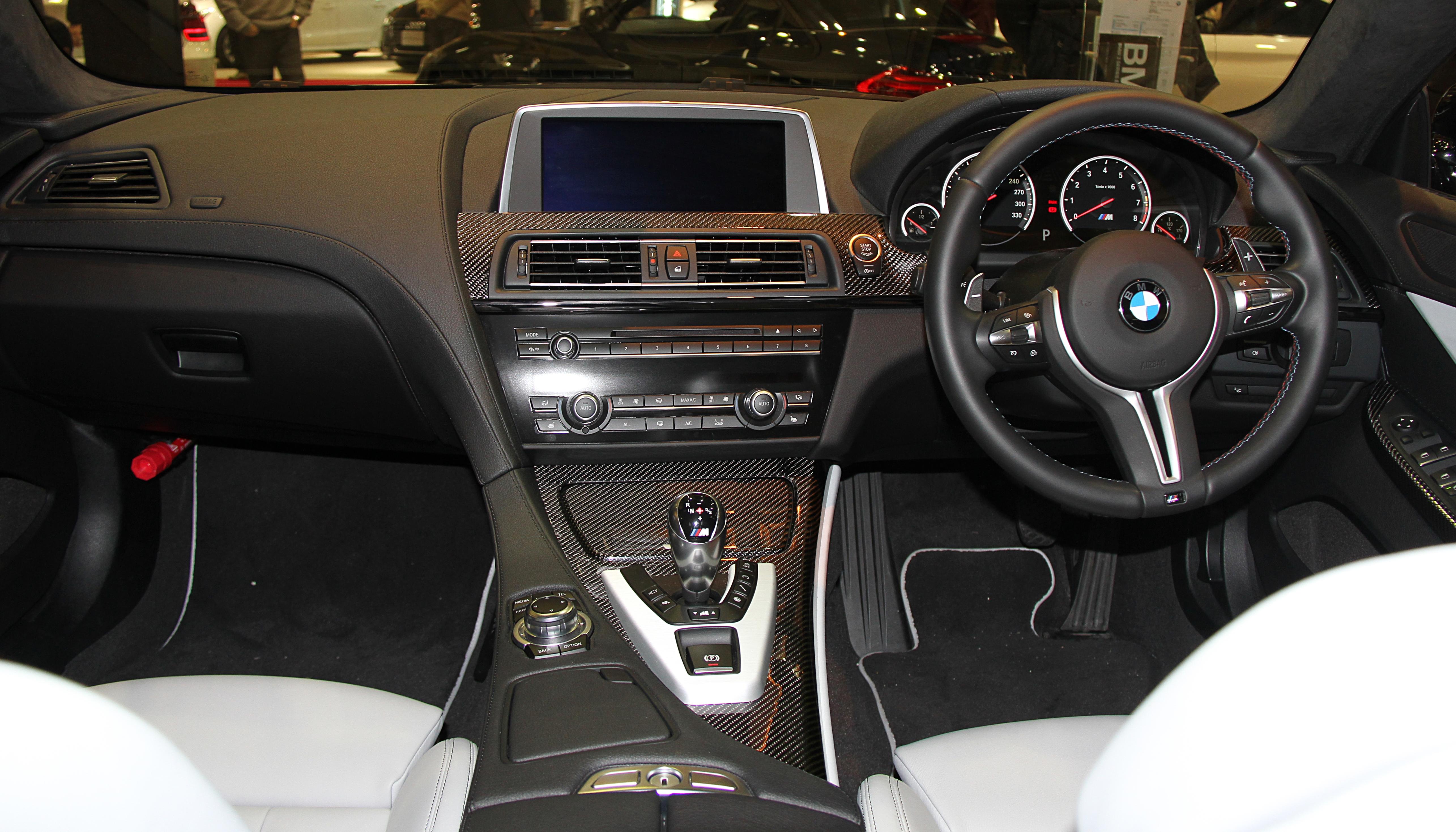 File bmw m6 gran coupe wikimedia commons - Bmw m6 gran coupe interior ...