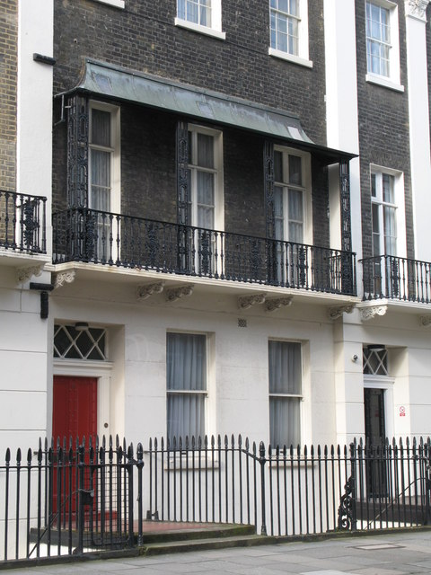 Terrific File Balcony With Canopy Endsleigh Street Wc2 Geograph Org Uk Largest Home Design Picture Inspirations Pitcheantrous