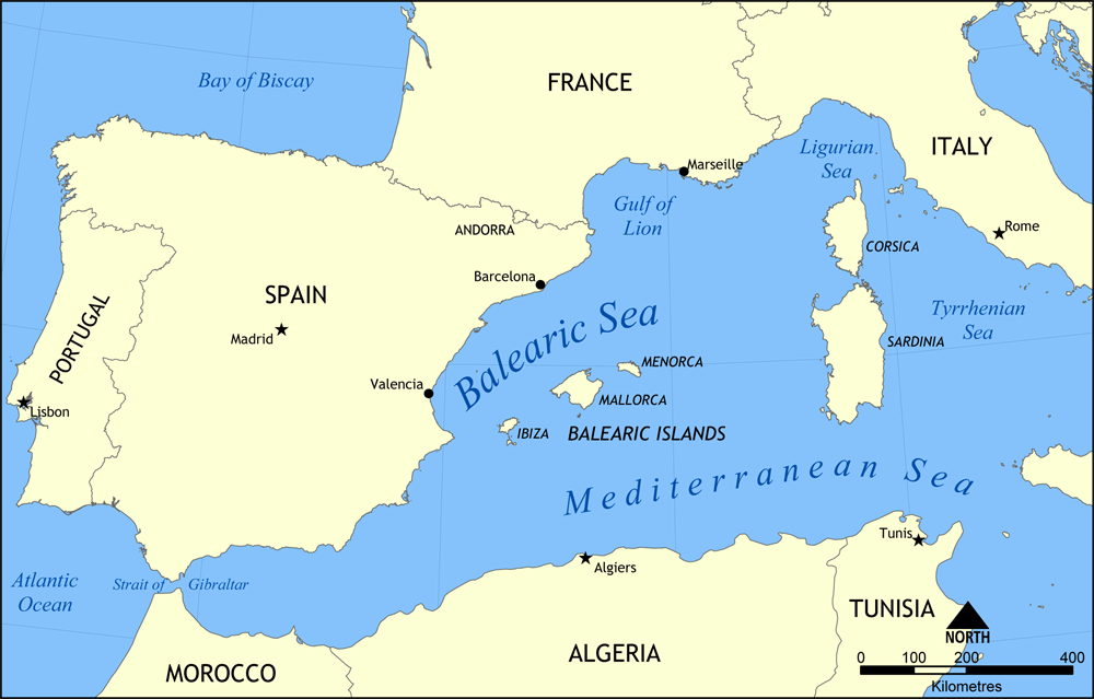 Balearic Sea - Wikipedia