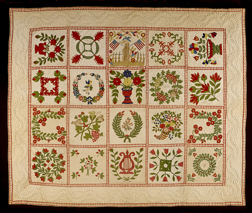 Quilt Block Patterns In Public Domain : Quilting 101: An Introduction to the Craft