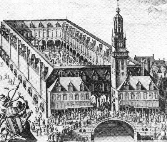 Amsterdam stock exchange.