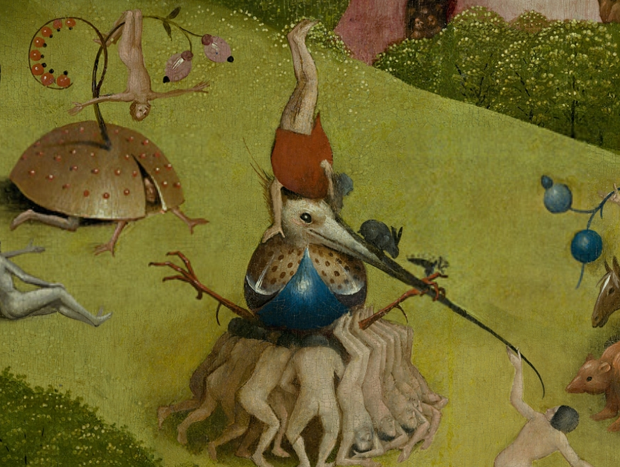 File bosch hieronymus the garden of earthly delights central panel detail men upside down - Bosch pittore il giardino delle delizie ...
