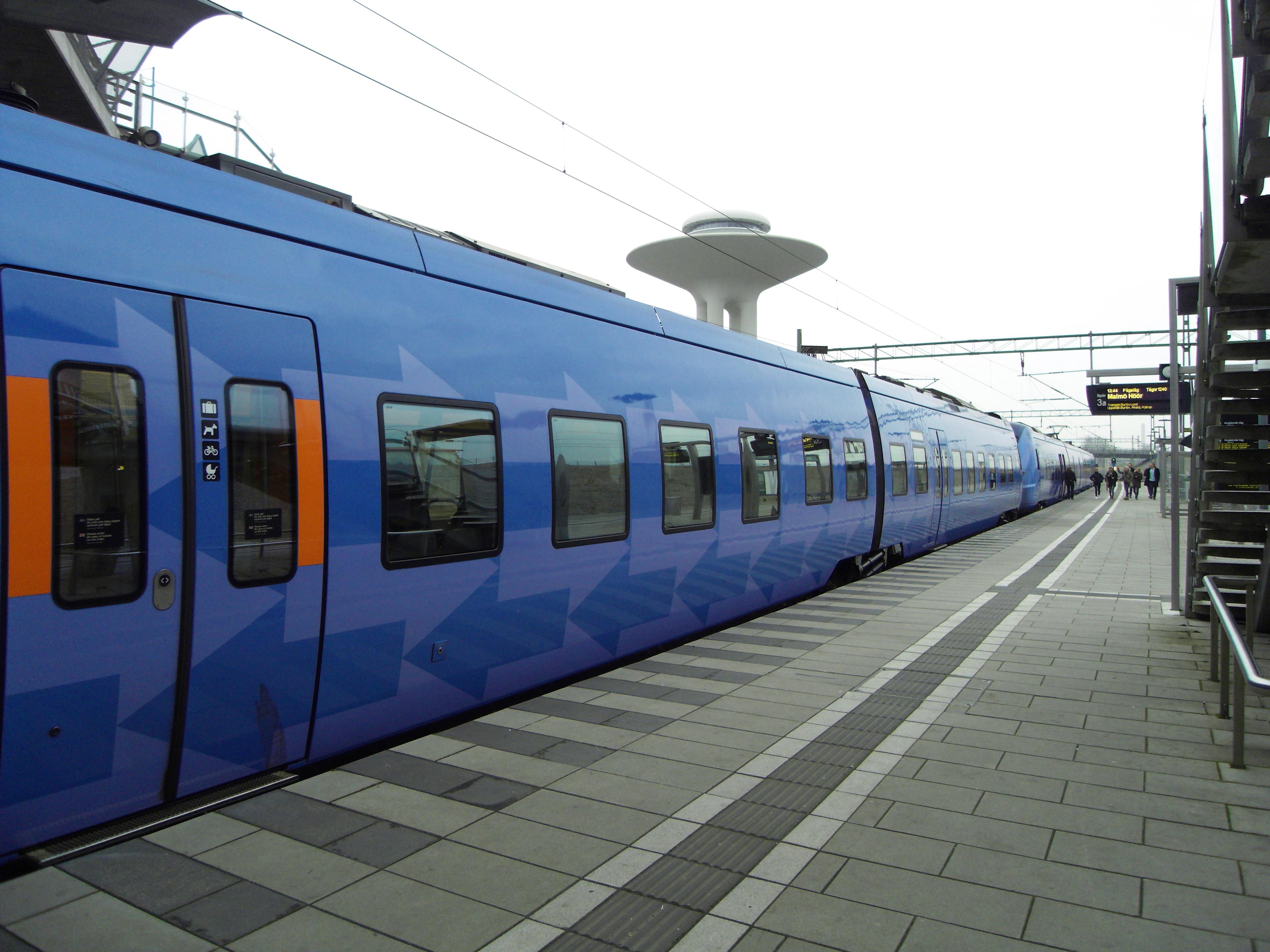 Newly Built Hyllie Railway Station News
