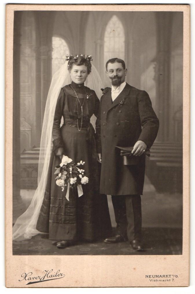 File Brautpaar Neumarkt Oberpfalz Um 1914 Jpg Wikimedia Commons