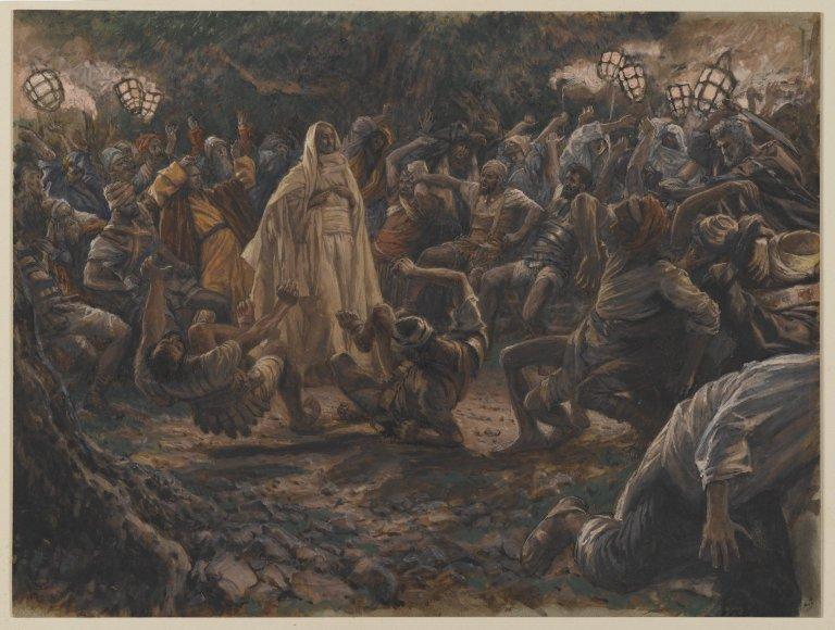 File:Brooklyn Museum - The Guards Falling Backwards (Les gardes tombant à la renverse) - James Tissot.jpg