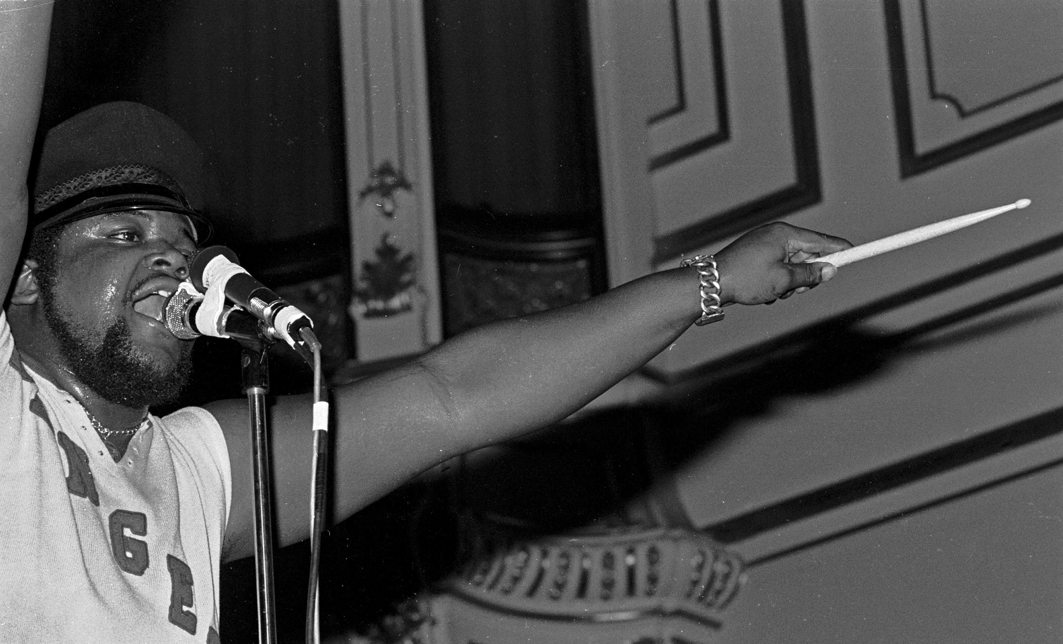 Miles performing in Hamburg, Germany, 1972