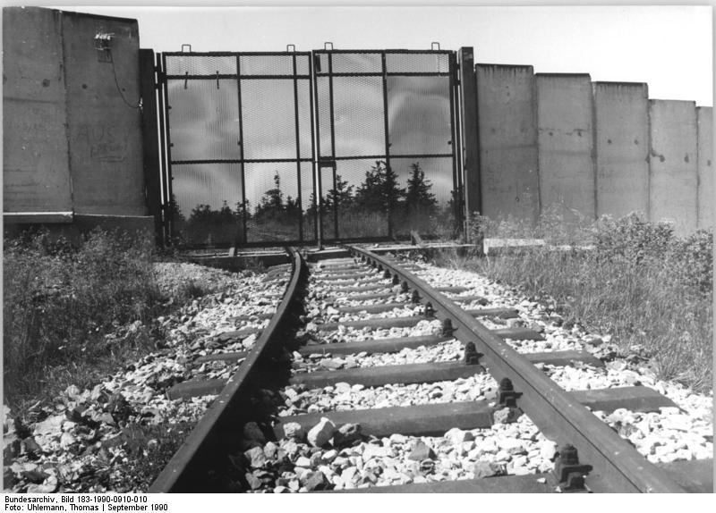 Valla del Brockenbahn RDA